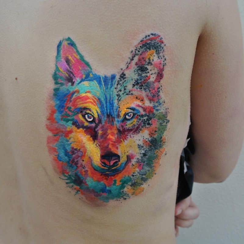 Colorful Art Watercolor Tattoo Ondras
