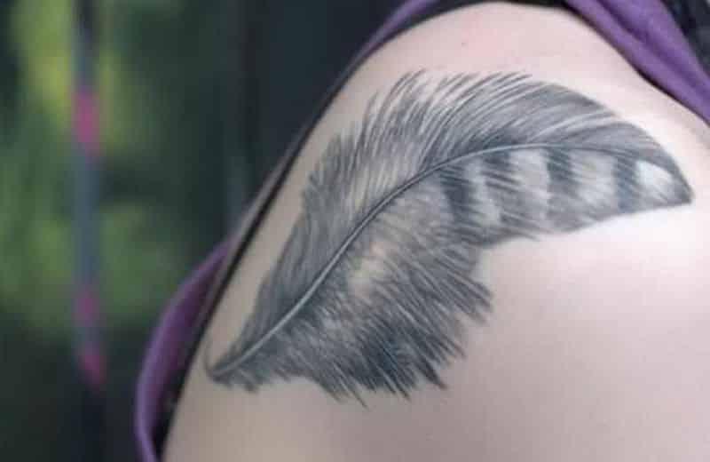 Feather Tattoo Designs Lightness Wisdom