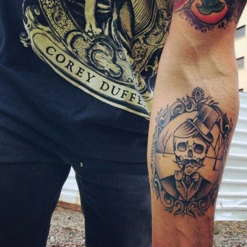 Designs Within Tattoo On Forearm