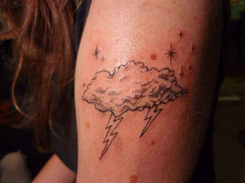 Storm Cloud Tattoos