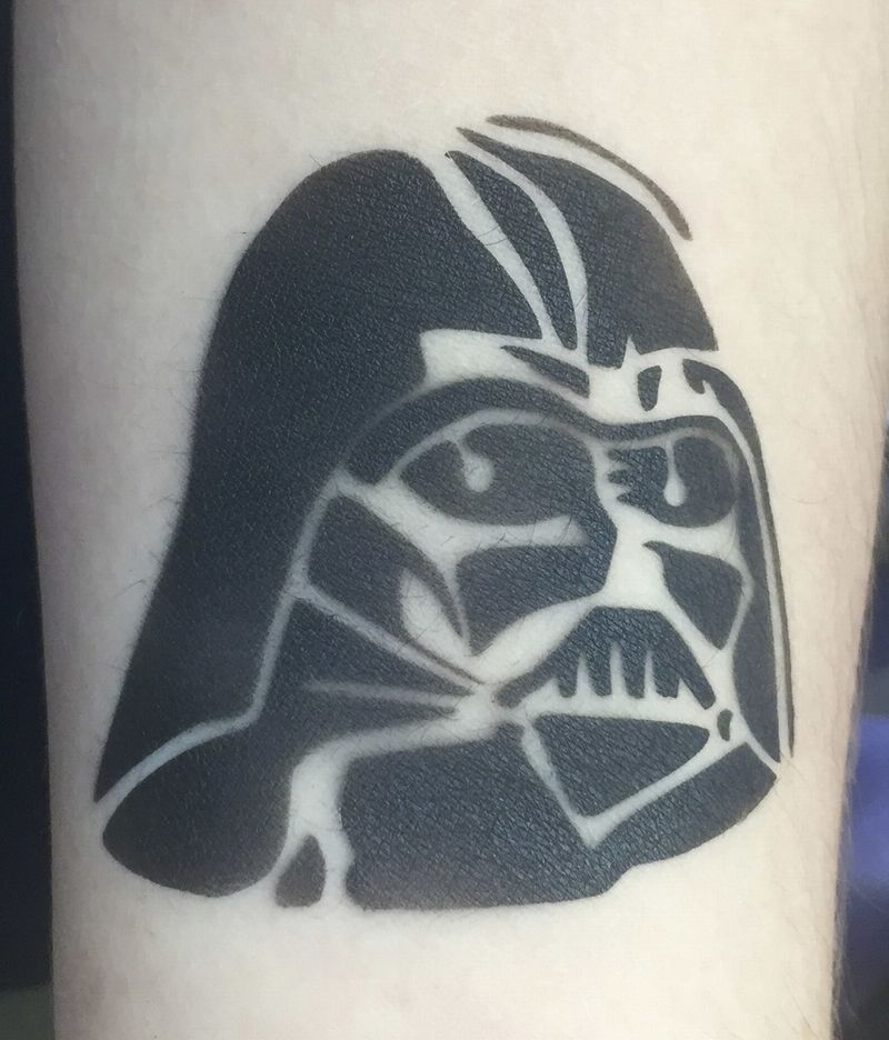 Airbrush Tattoo Darth Vader