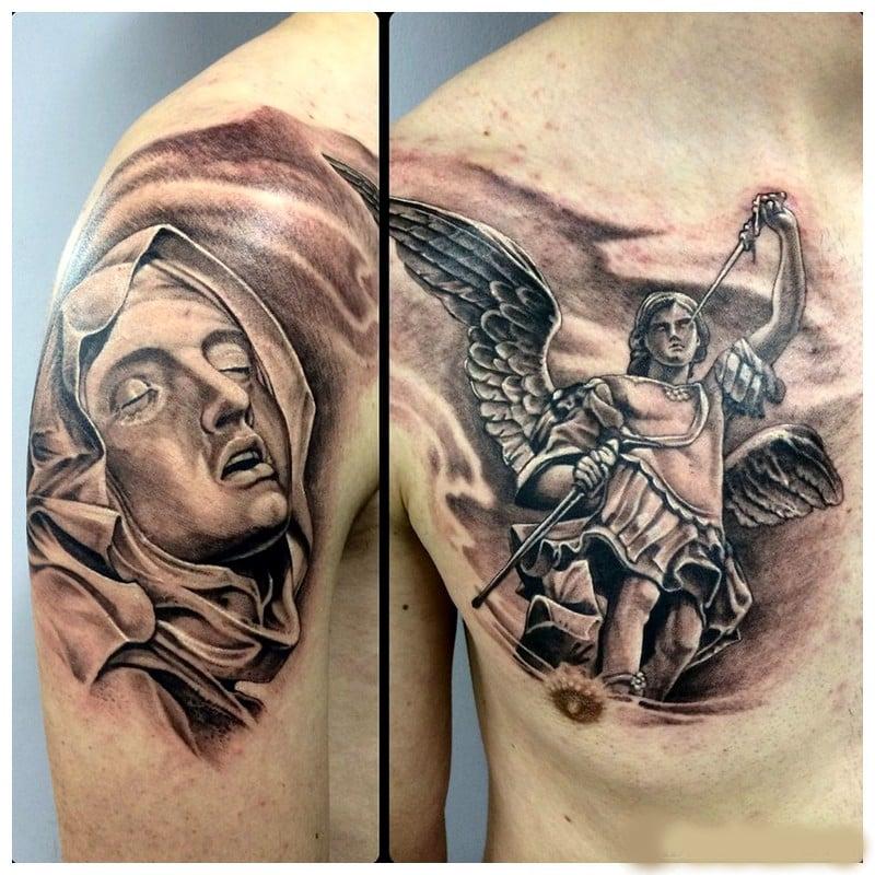 angel tatoos