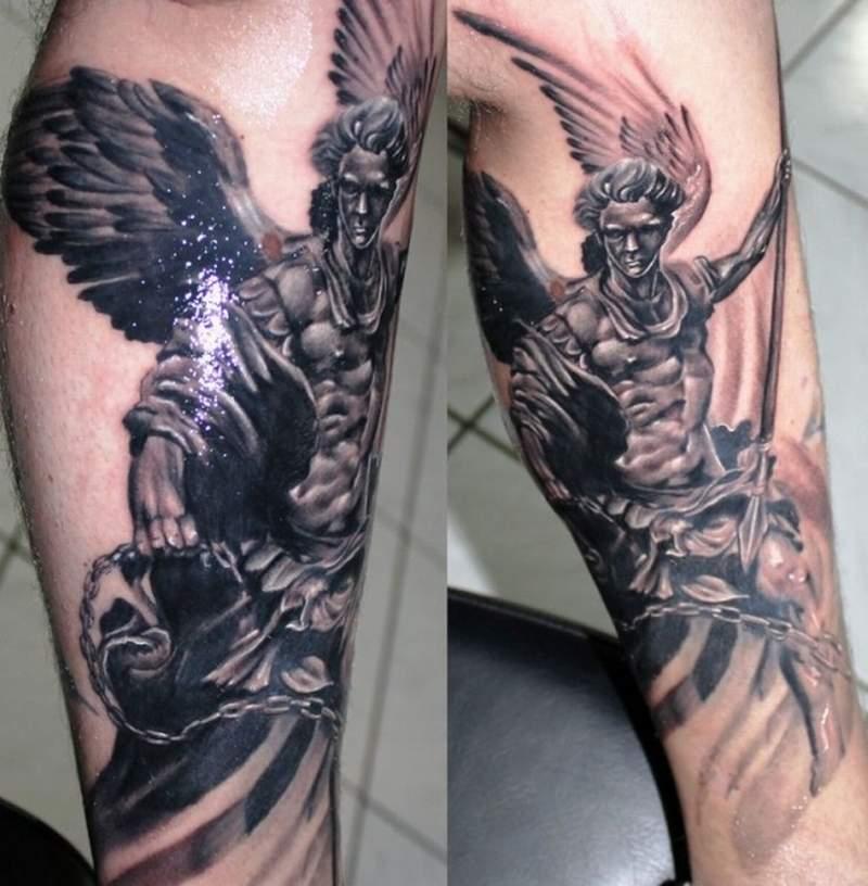 arch angel tattoos archangel