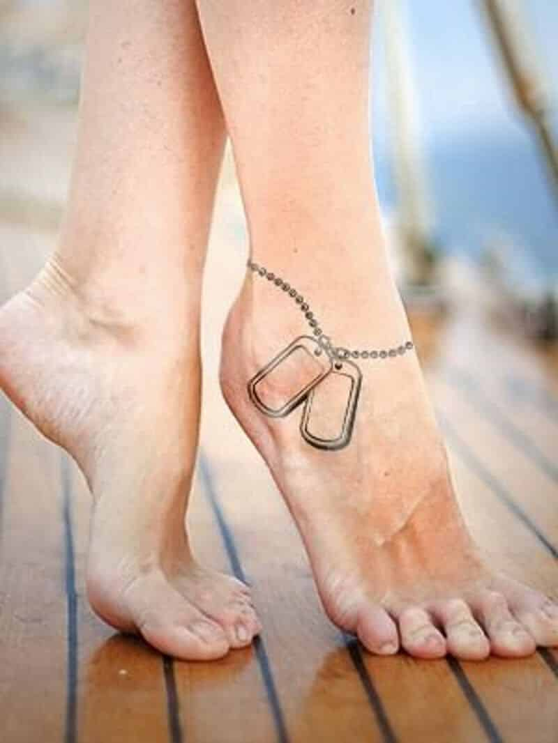 Awesome Ankle Tattoos