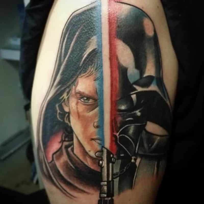Best Darth Vader Tattoo