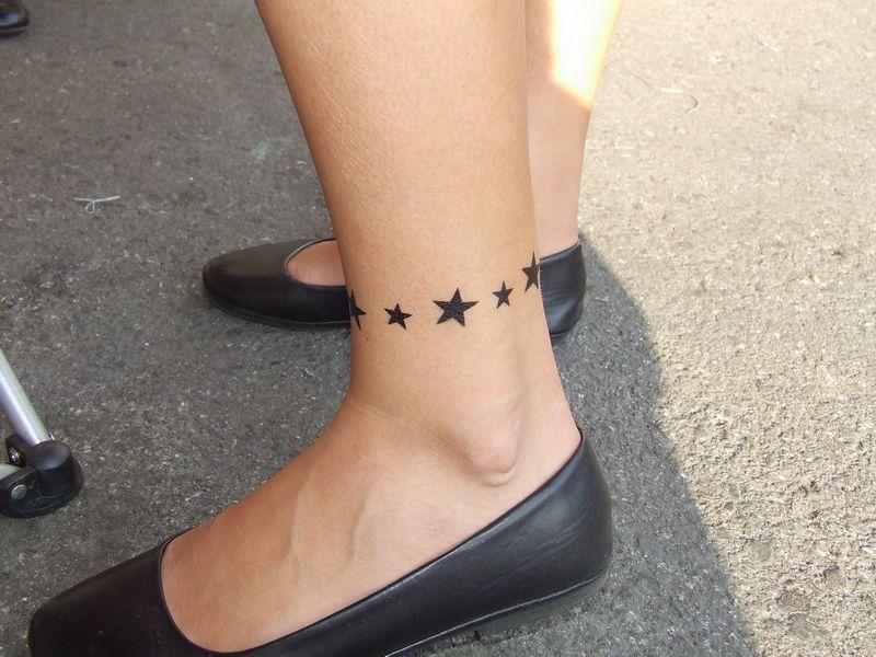 Bracelet Ankle Tattoos