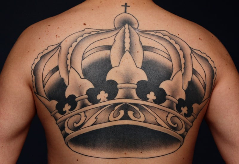 30 Multi Element Crown Tattoos Ideas For Everyone