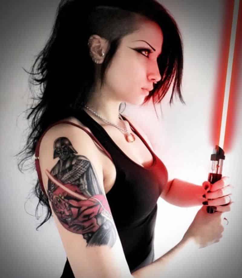 Darth Vader And Darth Maul Tattoo