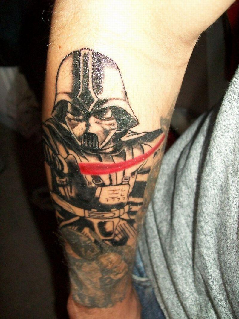 Darth Vader Tattoo For Men