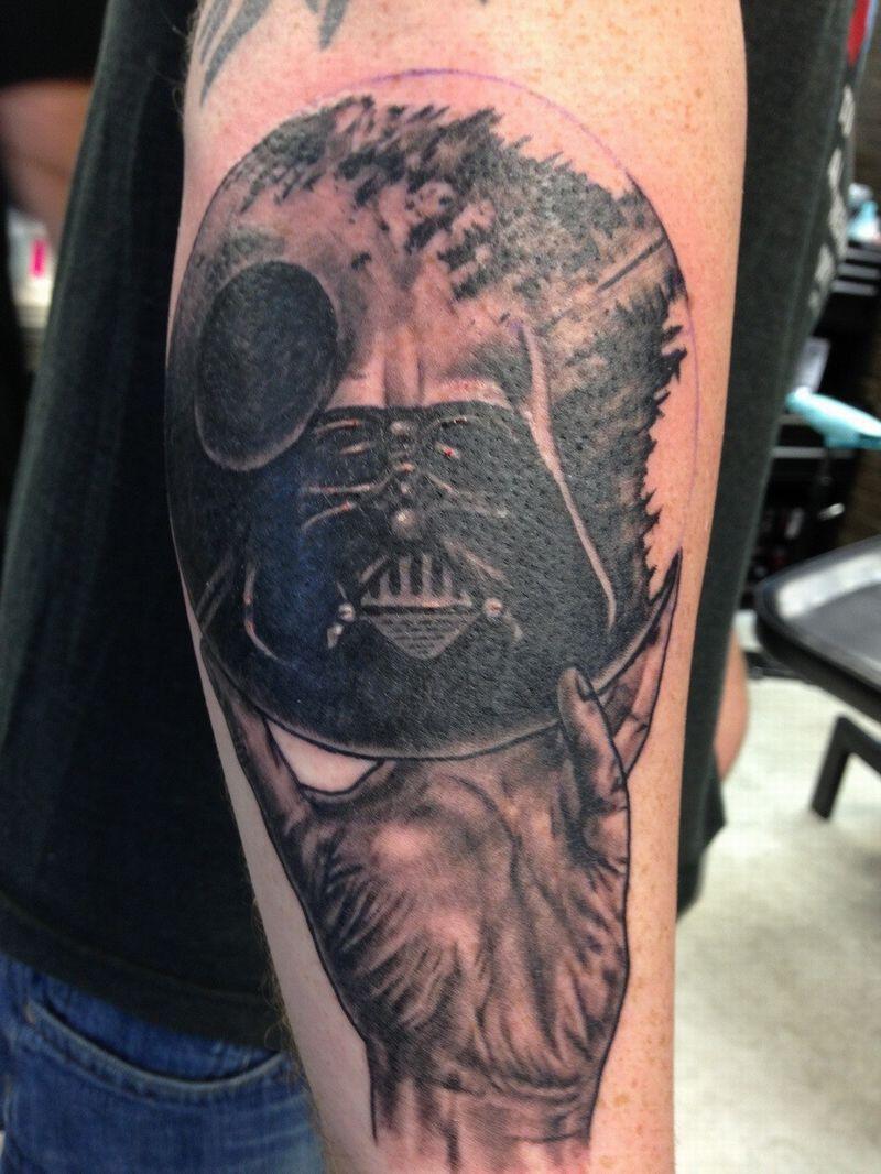 New Darth Vader Tattoos