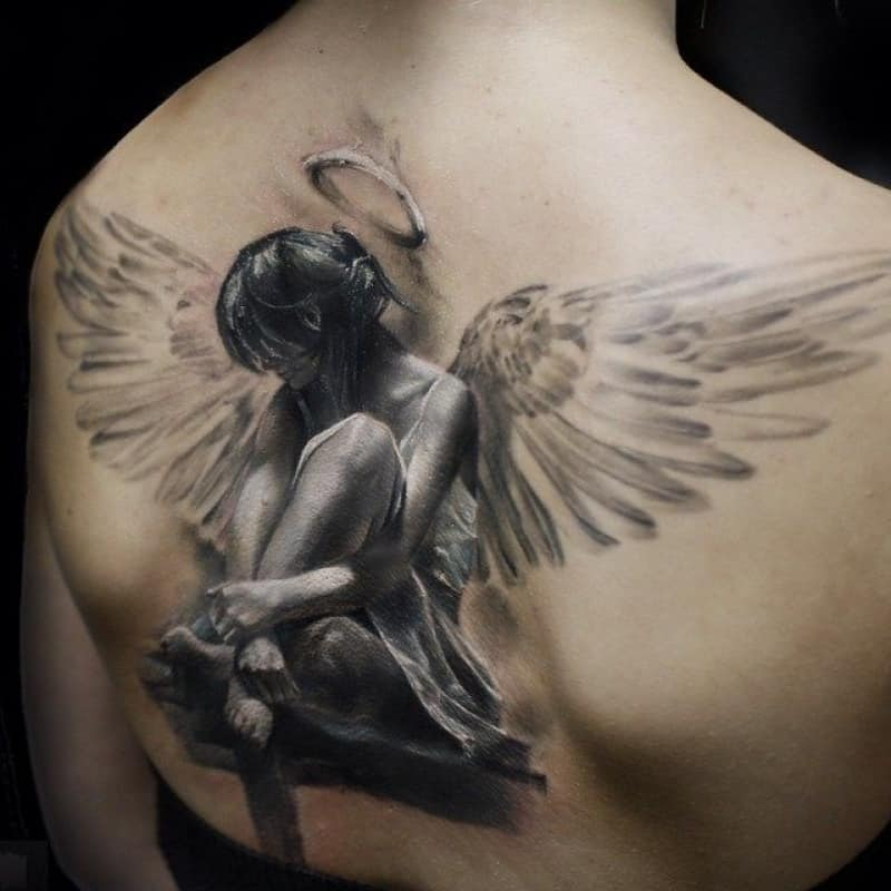 Tattoos Angel Angel Tattoos For Men Ideas And Inspiration For Guys - Tattoo Design Ideas