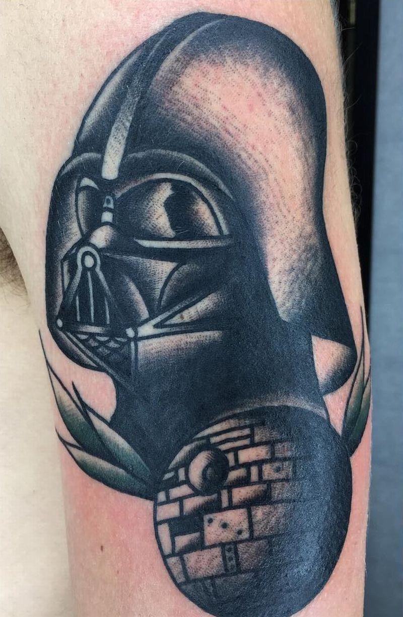 The Best Darth Vader Tattoo