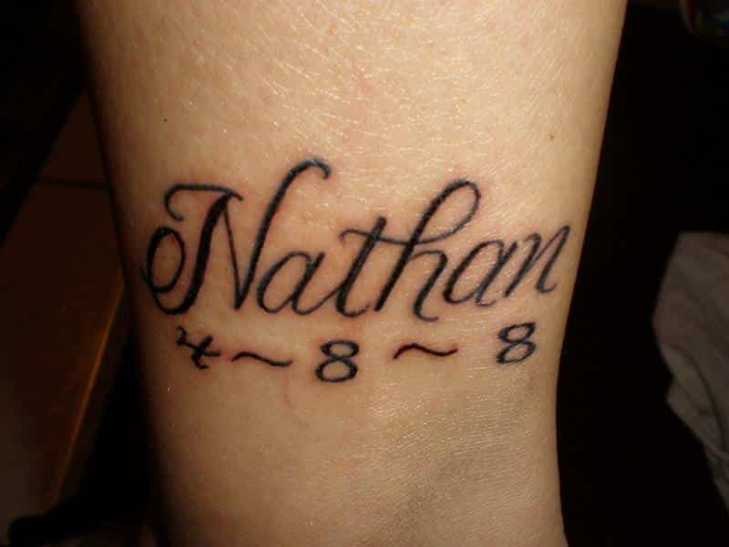 amzing name tattoo