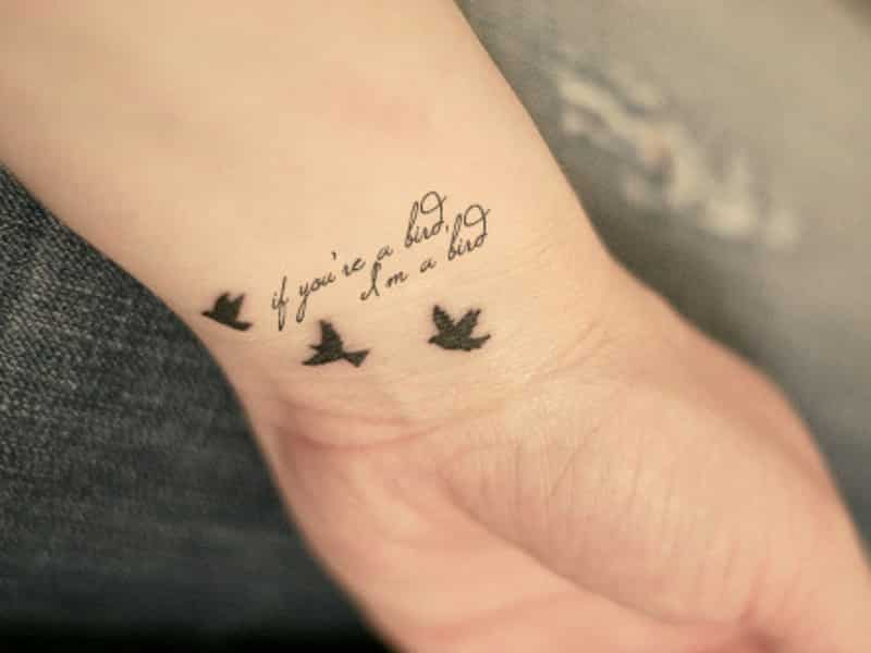 feminine wrist tattoos