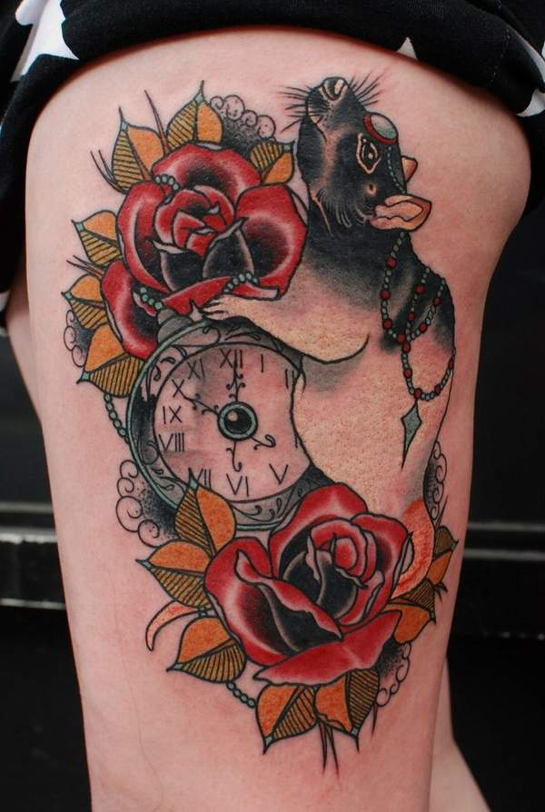 rat get fat tattoos meaning