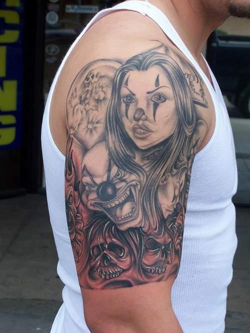 Awesome Skull Tattoo Design