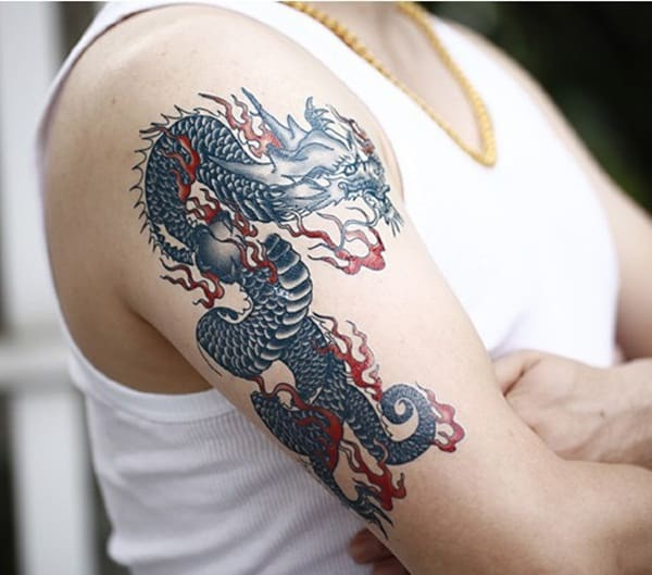 Perfect Dragon Tattoos Design