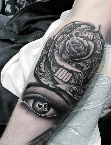 Black Forearm Tattoo