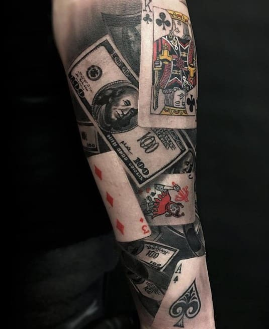 Card Game tattoo