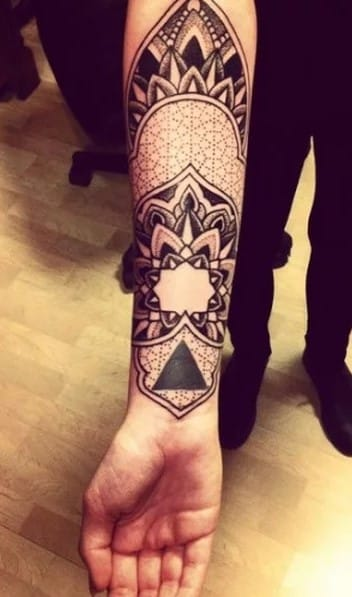 Forearm Sleeve Tattoo