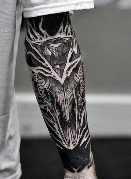 Unique Forearm Tattoo
