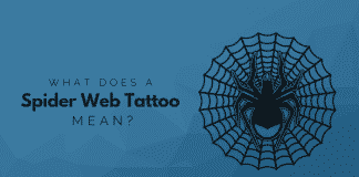 What Does A Spider Web Tattoo Mean